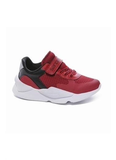Sanbe Sanbe 130T7706 Çocuk Spor Ayakkabısı Kırmızı 31-35 Kırmızı